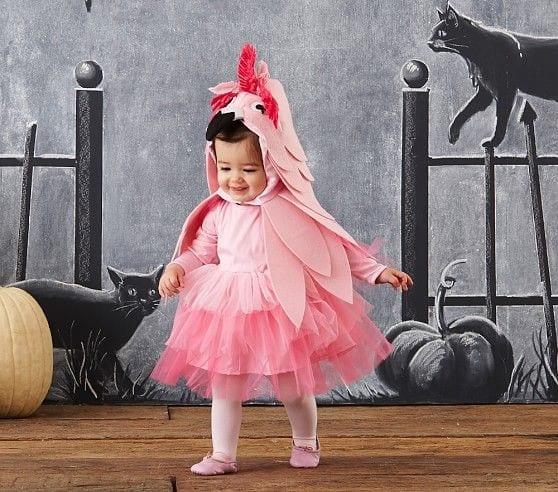Fantasia De Flamingo Para Bebe 02 Criando Com Apego