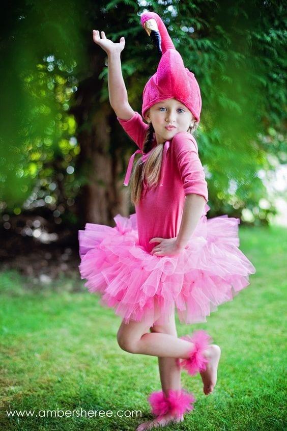 Fantasia De Flamingo Para Crianca 03 Criando Com Apego