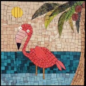 Flamingo mosaico