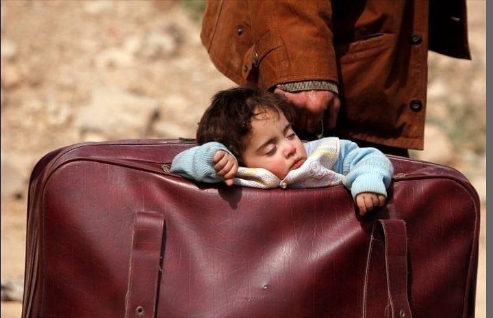 foto menino mala siria stop guerra