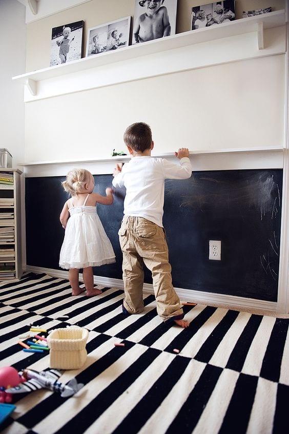 parede criativa quadro negro 07