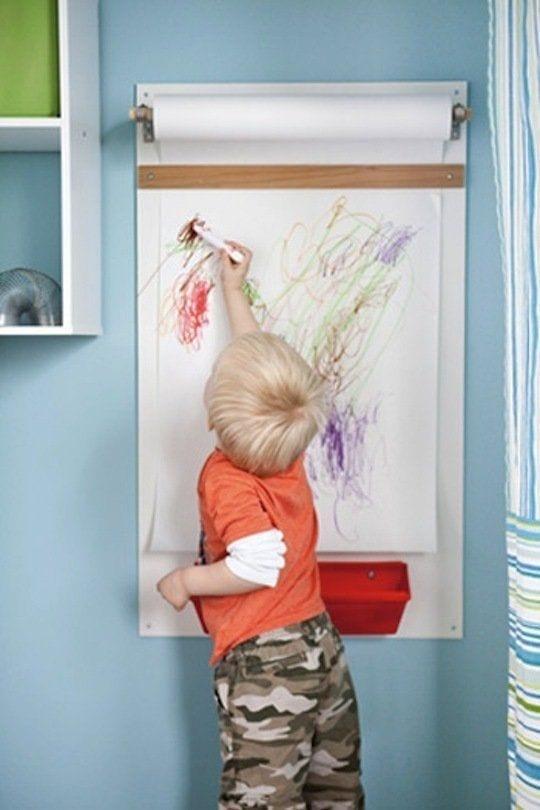 parede criativa rolo de papel 02