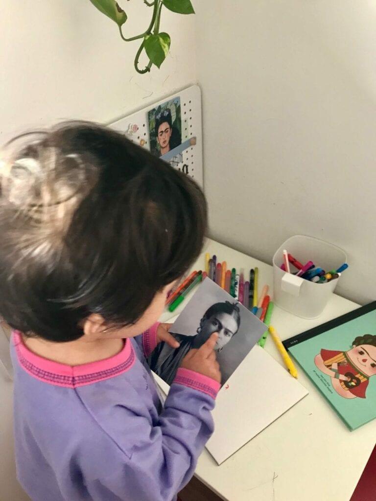 projeto de arte frida kahlo para criancas 09