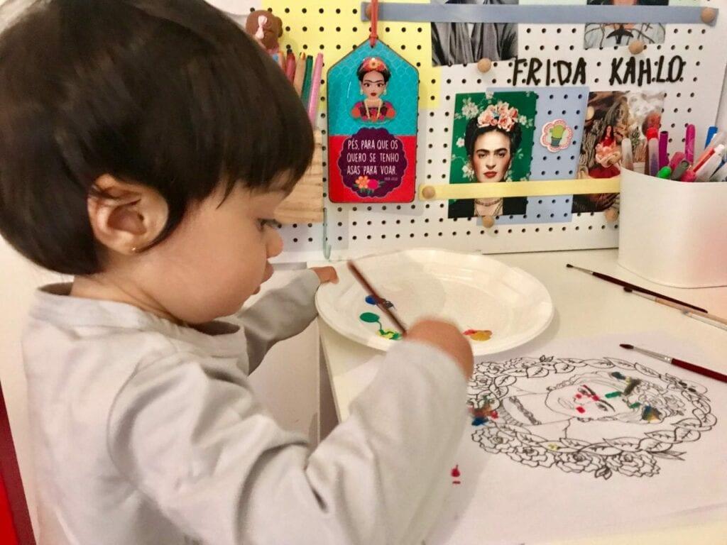 projeto de arte frida kahlo para criancas 11