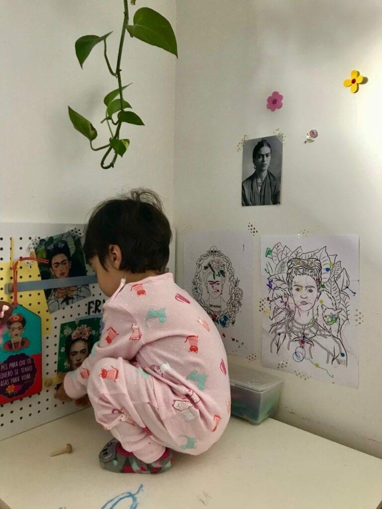 projeto de arte frida kahlo para criancas 12
