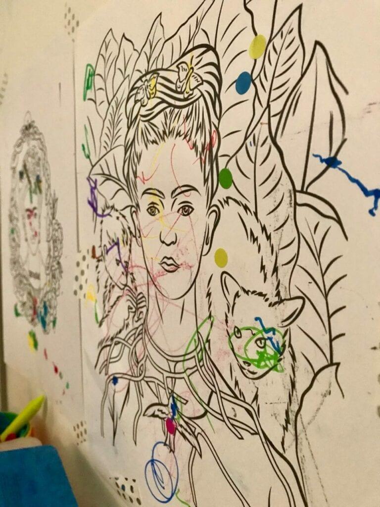 projeto de arte frida kahlo para criancas 13