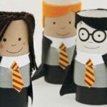 Animais com rolo de papel higiênico - Harry Potter