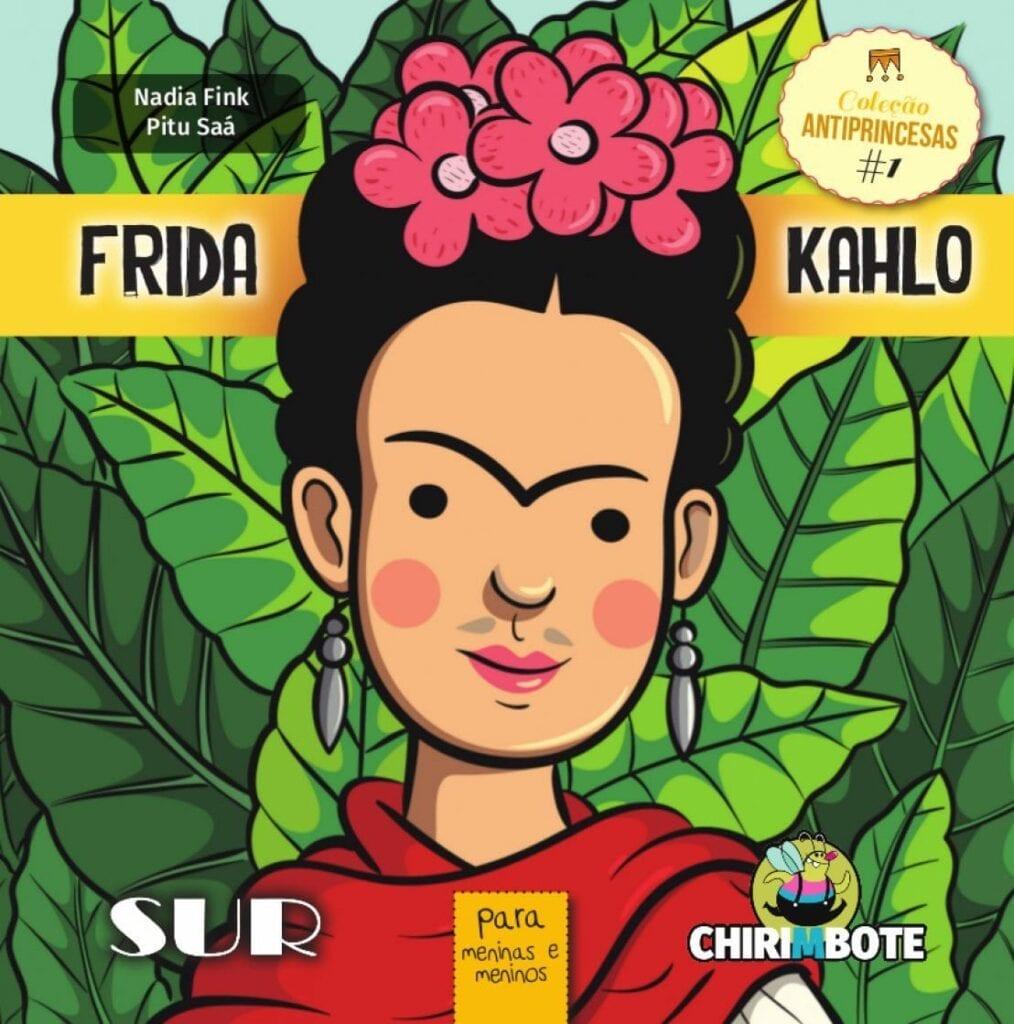 Frida Kahlo para meninas e meninosantiprincesas