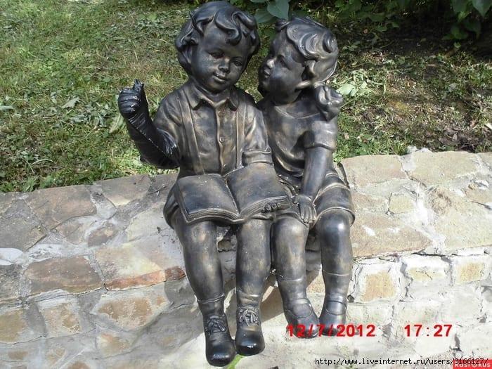 Monumento aos leitores em Moscou Russia