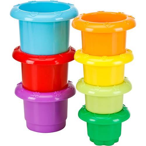 Torre de Potinhos Multicolor - First Steps