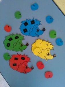Animais de cores