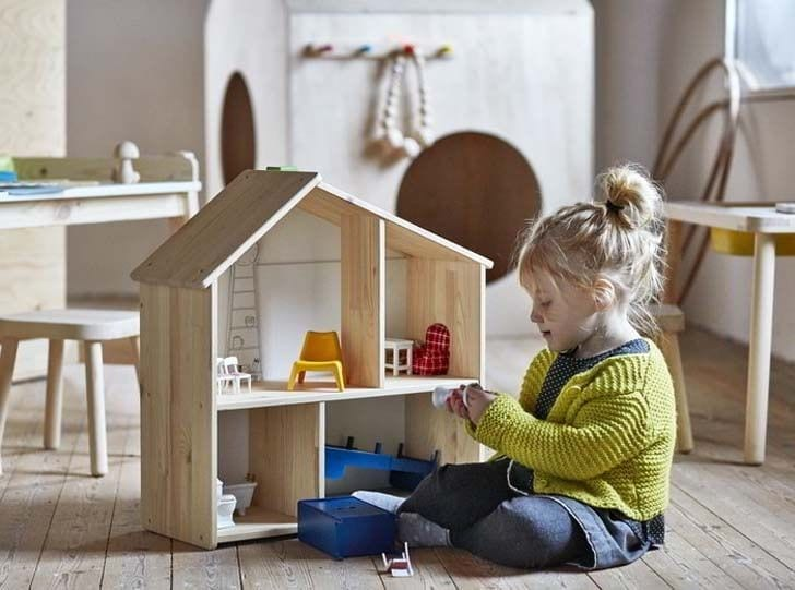 beneficios brincar casinha de boneca