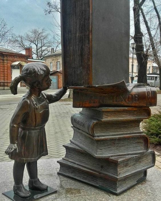 biblioteca de Taganrog, Rusia