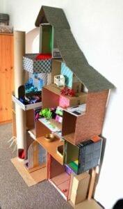 casinha de boneca de papelao 02