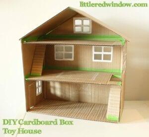 casinha de boneca de papelao 05