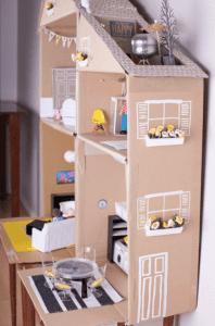 casinha de boneca de papelao 11