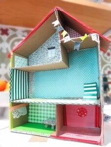 casinha de boneca de papelao 12