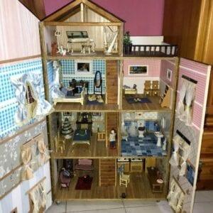casinha de boneca de papelao 13