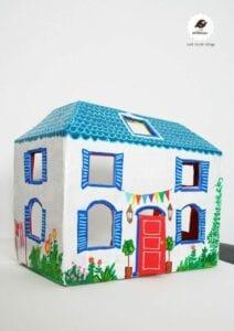 casinha de boneca de papelao 14