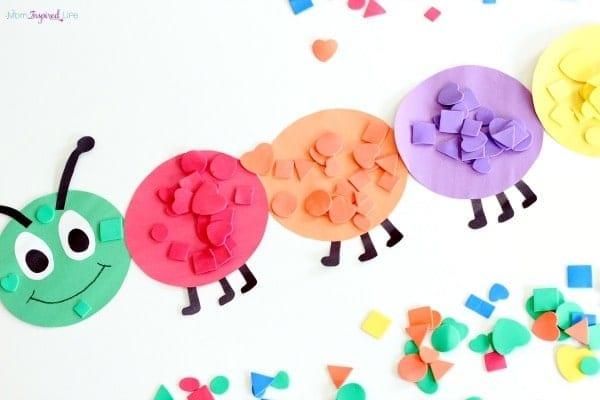 centopeia das cores