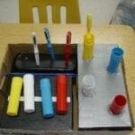 Classificando escovas de dente