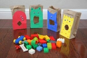Classificando Legos e cores