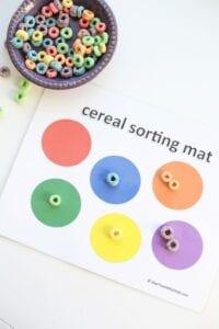 Classificar cereais por cores