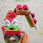 Coisas incríveis com rolo de papel higiênico - Dragão chinês
