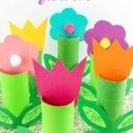 Coisas incríveis com rolo de papel higiênico - flores