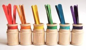 como ensinar as cores as criancas