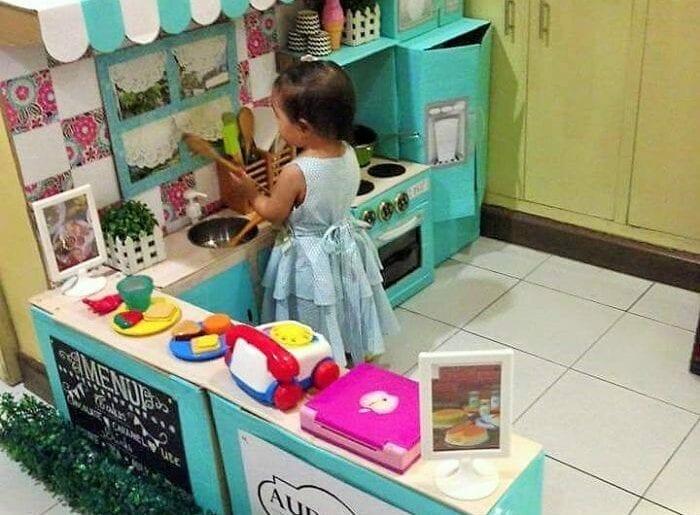 cozinha de papelao 04