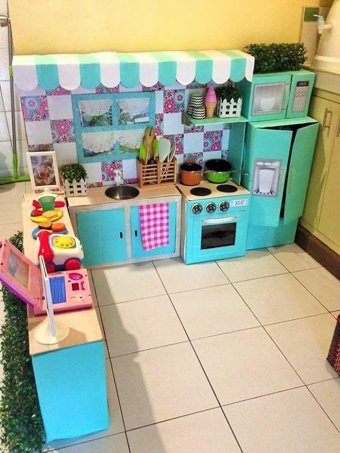 cozinha de papelao 05