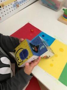 cubo magico de miro projeto de artes 06