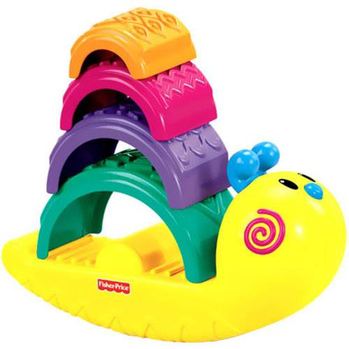 empilha caracol fisher price