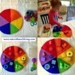 Jogos de construção e as cores