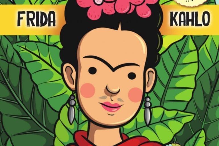 livros sobre frida kahlo para criancas