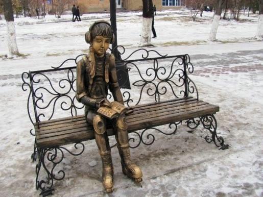 menina leitora petropavlovsk cazaquistao