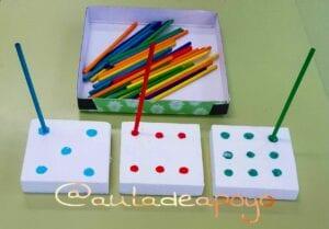 Aprendendo cores e números