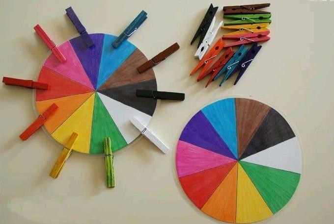 Roleta das cores
