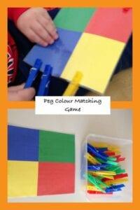 Associando pregadores de cores