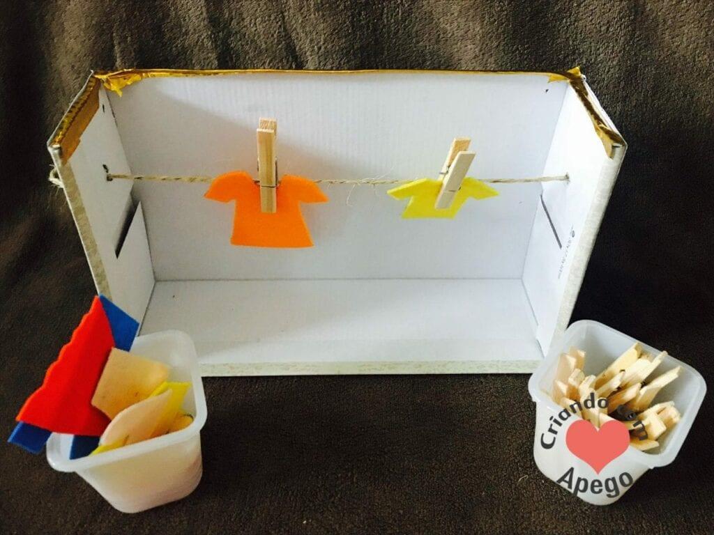 varal infantil atividade de vida pratica montessori 14