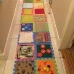 Tapete de atividades sensoriais no estilo Montessori 02