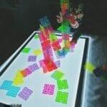 atividade para mesa de luz para criancas
