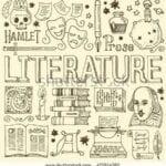 capas cadernos personalizados literatura
