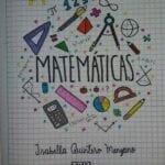 capas para cadernos personalizados matematica
