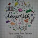 capas para cadernos personalizados quimica