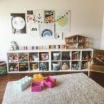 estante montessori 12