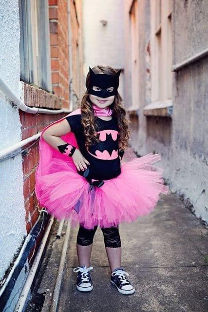 fantasia de batman menina