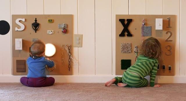 jogos de aprendizagem painel sensorial