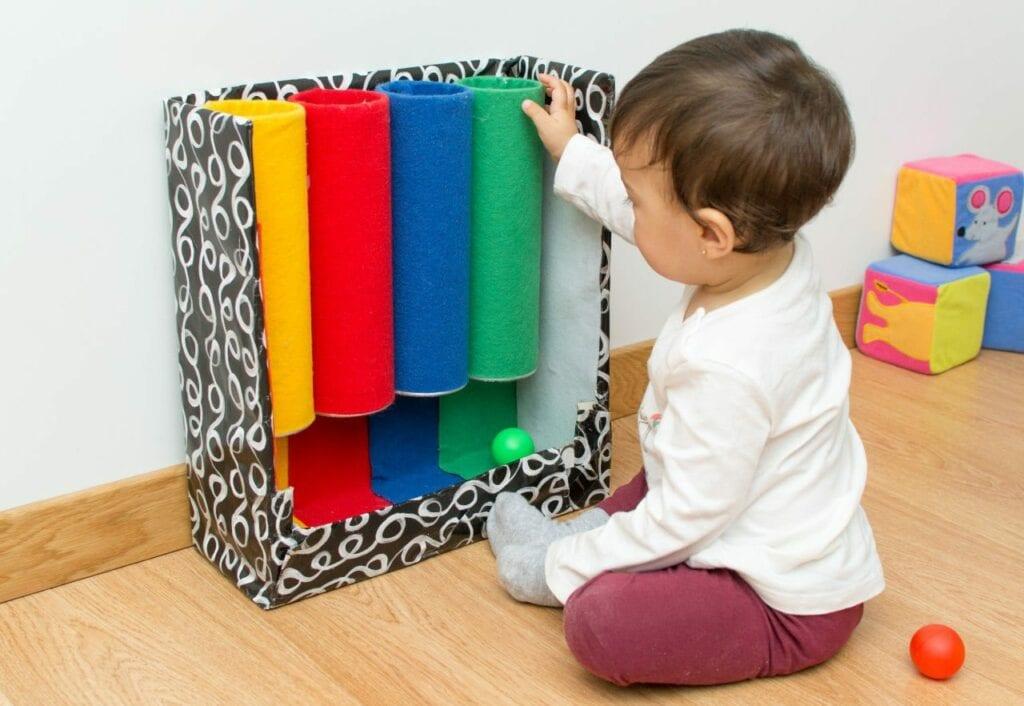 jogos de aprendizagem tubo das cores